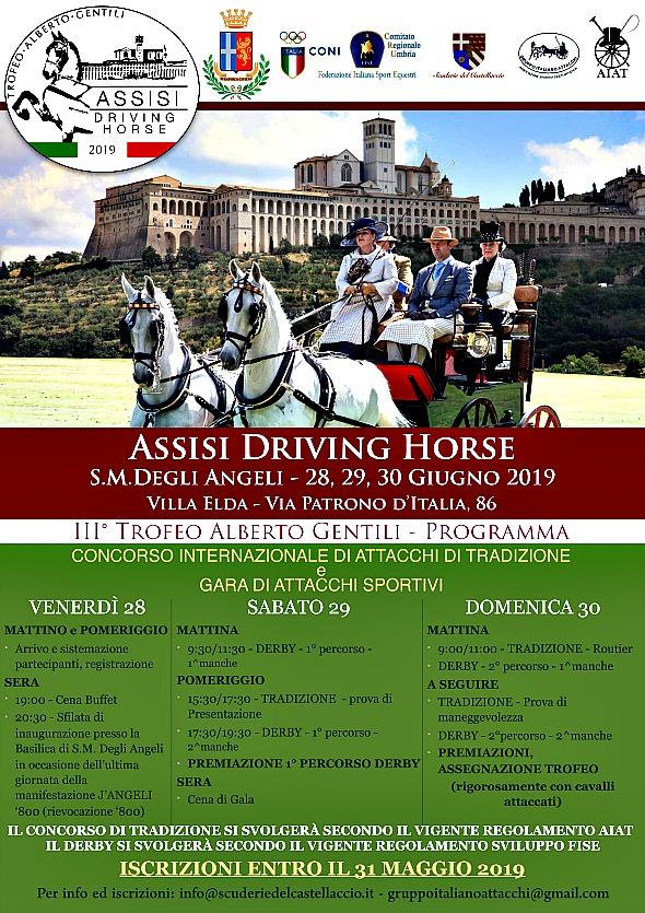 Assisi/PG, Concorso di Sviluppo Attacchi FISE @ Villa Elda, via Patrono d'Italia 86
