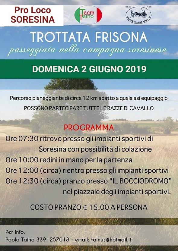 Soresina/CR, trottata @ Impianti Sportivi