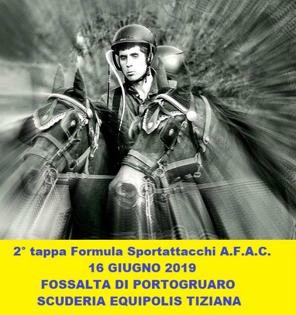 Fossalta di Portogruaro/VE, derby amatoriale AFAC @ Scuderia Equipolis, Tiziana, via Martin Luther King 10