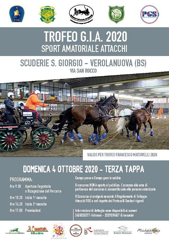 Verolanuova/BS, gara amatoriale GIA @ C.E. Scuderia S. Giorgio, via S. Rocco