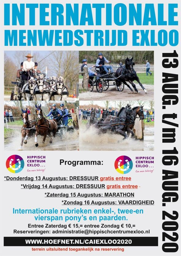 Exloo/Ned, CAI 2* @ Hippisch Centrum Exloo, Valtherweg 27-A