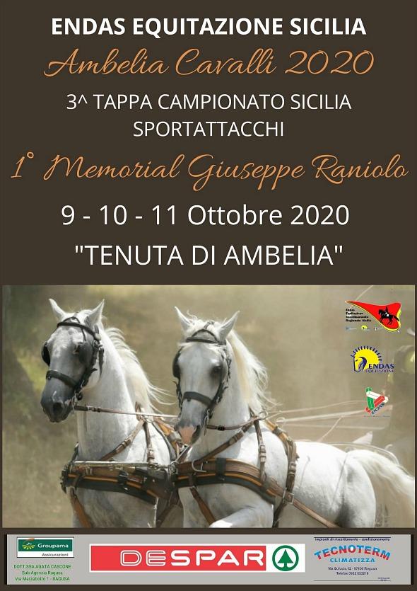 Militello/CT, sportattacchi Endas @ Fiera Mediterranea del Cavallo, Tenuta Ambelia