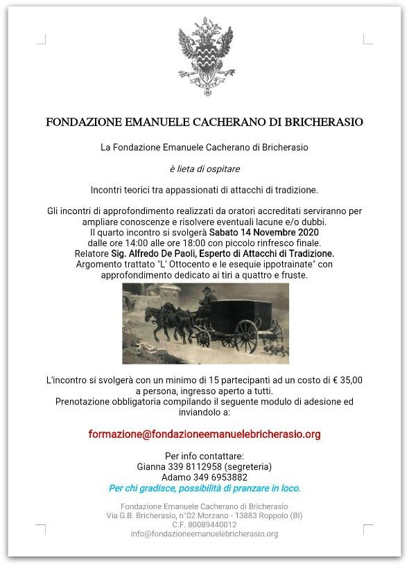 Roppolo/BI, Conferenza sugli attacchi funebri nell'800 @ Fondaz. Emanuele Cacherano di Bricherasio, via Bricherasio 2, fraz. Morzano