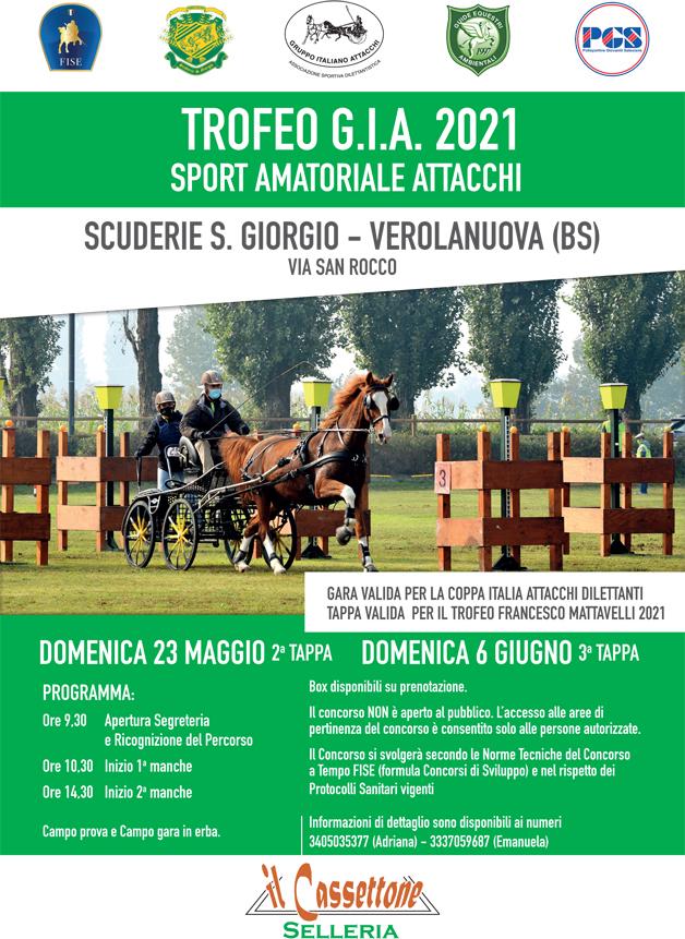 Verolanuova/BS, gara amatoriale GIA @ Scuderie S. Giorgio, via San Rocco