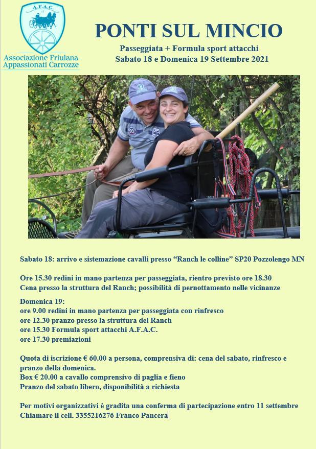 Ponti sul Mincio/MN, turismo e sport amatoriale AFAC