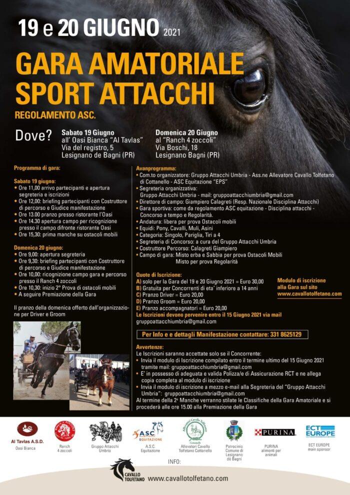 Lesignano Bagni/PR, gara amatoriale ASC