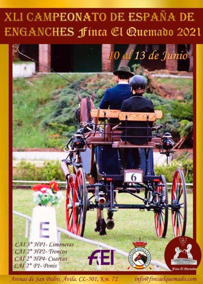 Avila/Esp, CAI 2* & 3* @ Finca El Quemado, Arenas de San Pedro