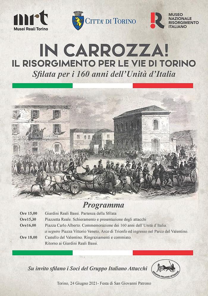 Torino, Sfilata commemorativa @ Centro
