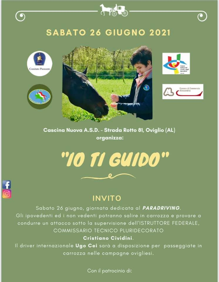 Oviglio/AL, stage para-driving @ Cascina Nuova ASD, Strada Rotto 81