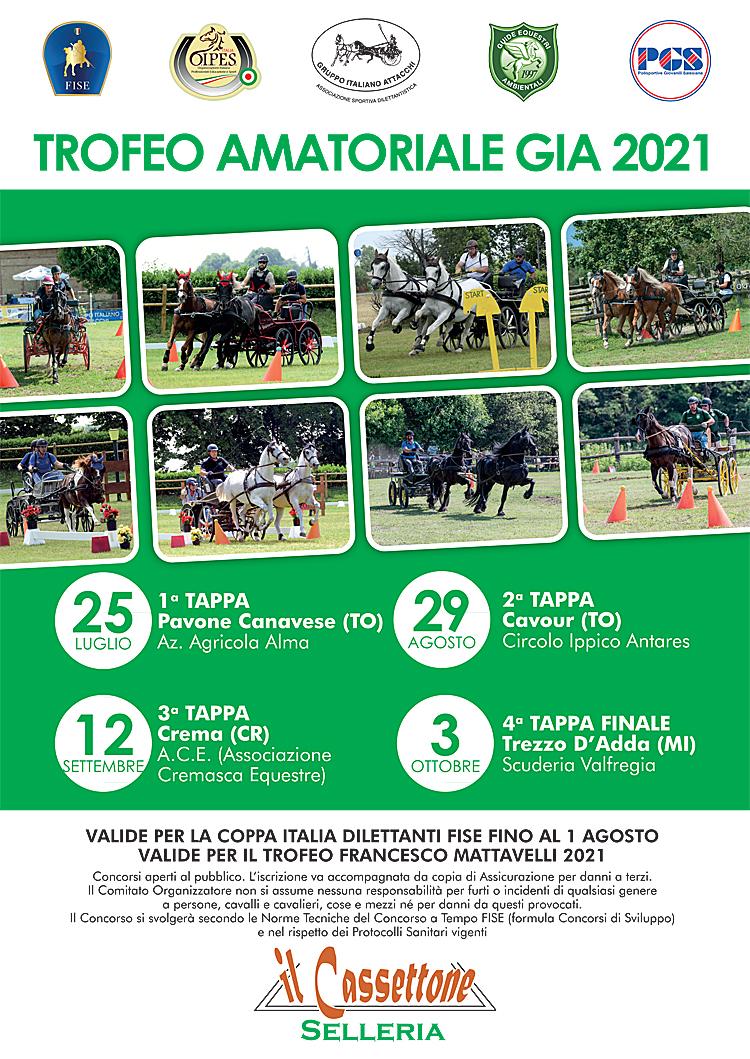 ANNULLATA - Crema/CR, gara amatoriale GIA @ Associazione Cremasca Equitazione
