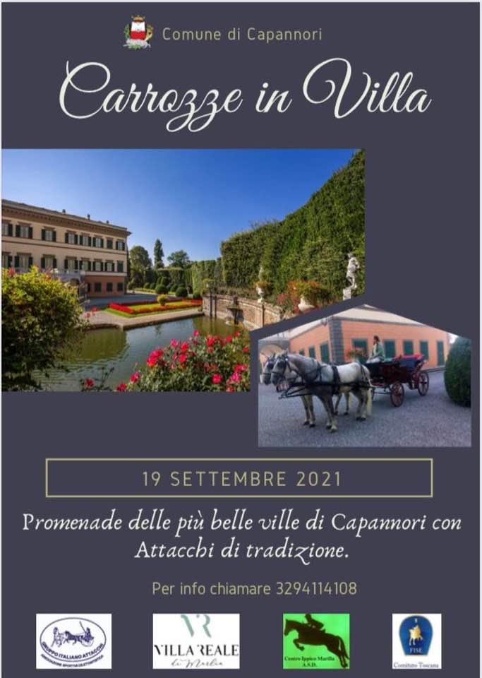 Capannori/LU, Promenade di tradizione